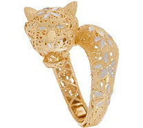 Italian Gold Panther Ring 14K Gold - J350941