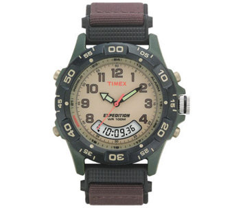 Timex Mens Resin Analog and Digital Watch - J308842