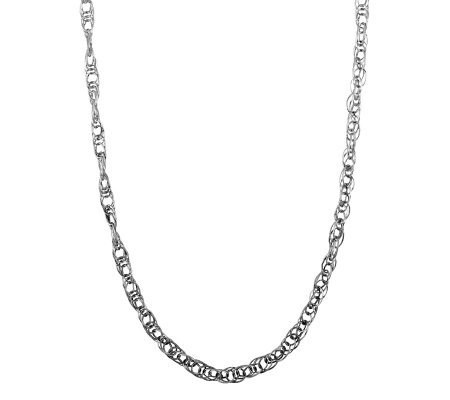 Sterling Oval Link Necklace