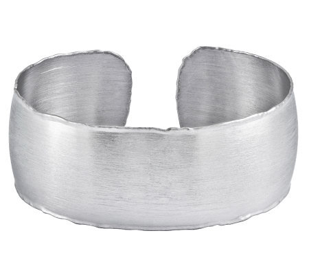 Sterling Brushed Satin Cuff