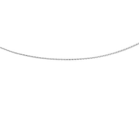 "Sterling 18"" Polished Round Franco Chain"