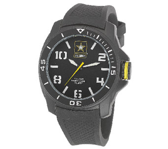 Wrist Armor Men's U.S. Army C25 Black & White Watch - J316342