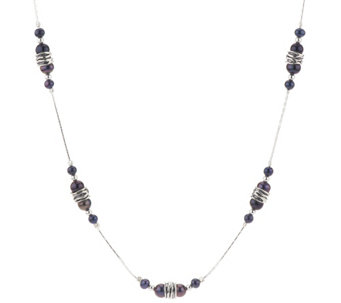 "Sterling Silver Peacock Cultured Pearl 24"" Necklace by Or Paz - J318642"