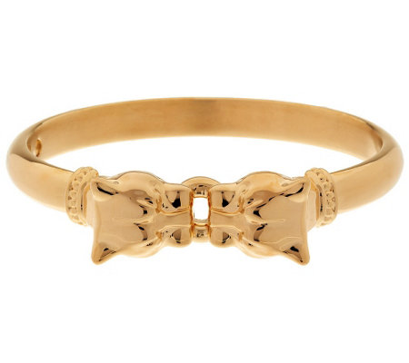 """As Is"" Oro Nuovo Large Interlocking Panther Head Bangle 14K"