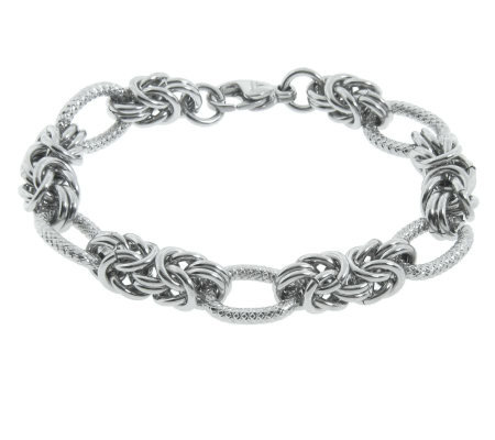 Steel by Design Byzantine Link Bracelet