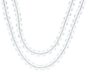 "Linea by Louis Dell'Olio Faceted Bead 72"" Necklace - J284043"