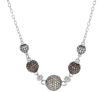 Judith Ripka Sterling 11.55cttw Diamonique Bead Necklace - J288843