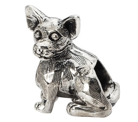 Prerogatives Sterling Chihuahua Bead
