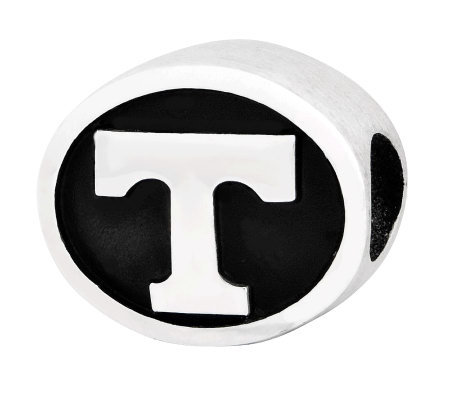 Sterling Silver University of Tennessee Bead