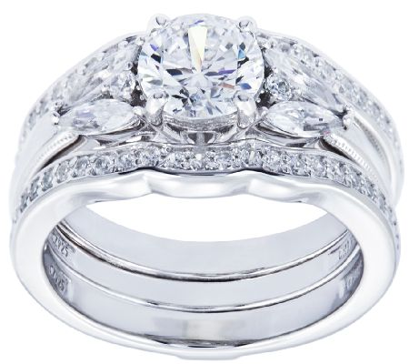 Bridal Classics DiamoniqueR Jewelry Jewelry QVCcom