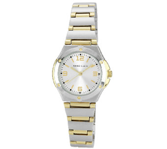 Anne Klein Women's Two-Tone Round Dress Watch - J338743