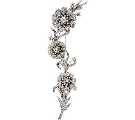Joan Rivers Private Collection Edwardian Style Flower Brooch