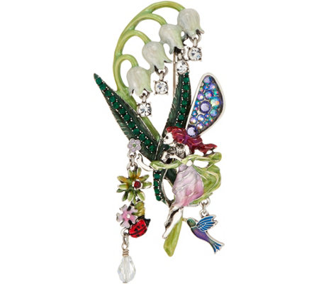 Kirks Folly Lily of the Valley Fairy Pin