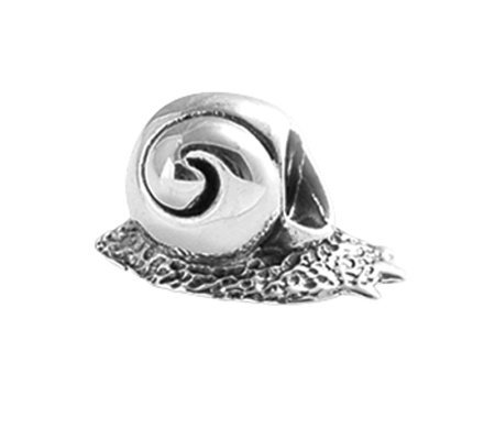 Prerogatives Sterling Snail Bead