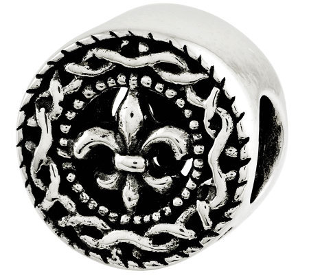 Prerogatives Sterling Fleur-de-Lis Bead