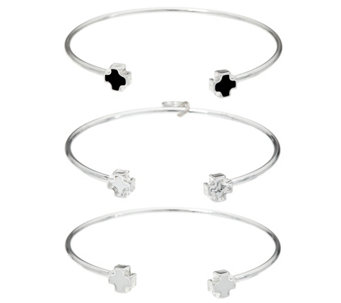 My Saint My Hero Pillar of Faith Set of 3 Cuffs - J333944