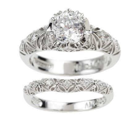 Diamonique Wedding Rings