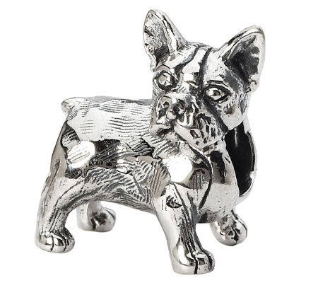 Prerogatives Sterling Boston Terrier Bead