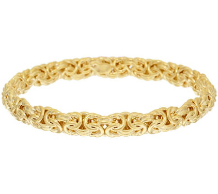 """As Is"" Oro Nuovo Average Woven Byzantine Bangle 14K"