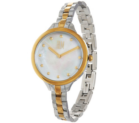 RLM Stainless Steel Mother of Pearl Watch