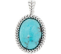 Tiffany Kay Studio Sterling Silver Turquoise Enhancer - J352345
