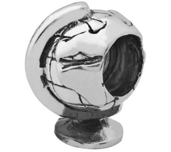 Prerogatives Sterling Globe Bead - J110046
