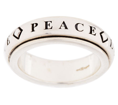 Revolving Prayer Ring by Artist of Hope, StevenLavaggi