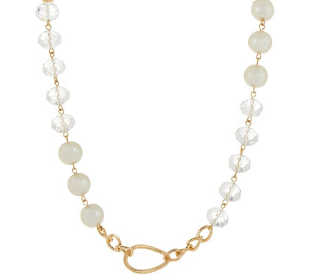 Joan Rivers Classic with a Twist Simulated Pearl & Bead Necklace