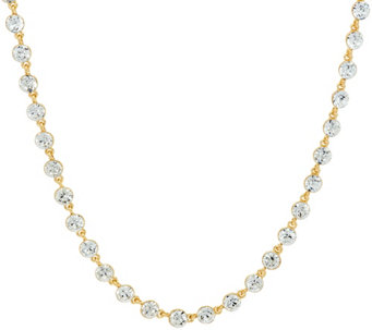 Isaac Mizrahi Live! 36'' Faceted Crystal Necklace - J331646