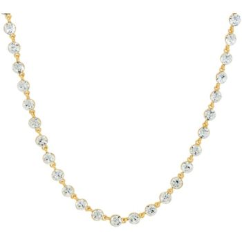 Isaac Mizrahi Live! 36'' Faceted Crystal Necklace