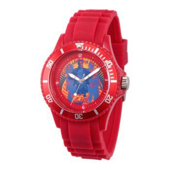Marvel Guardians Unisex Red Plastic Watch
