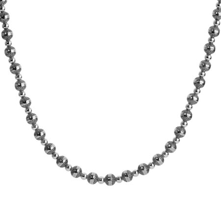 "American West Sterling 32"" Beaded Necklace"