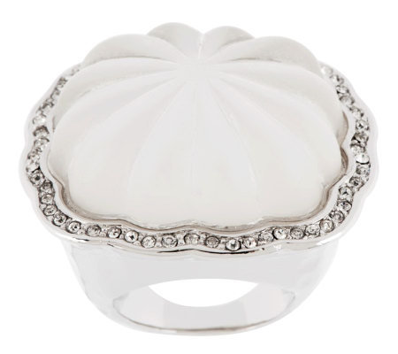 Kenneth Jay Lane's Fluted Style Ring