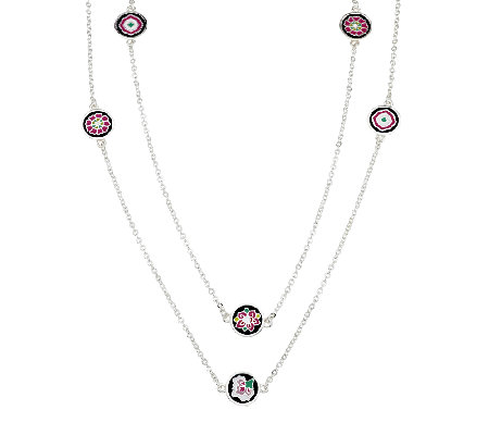 Vera Bradley Dainty Chain Station Necklace