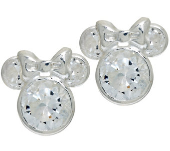 """As Is"" Disney 1.8 cttw Diamonique Mickey or Minnie Studs - J328147"