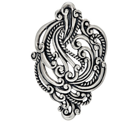 Carolyn Pollack Sterling Silver Signature Knot Enhancer