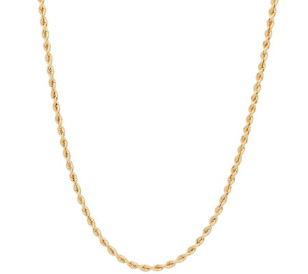 "EternaGold 36"" Silk Rope Necklace 14K Gold, 7.6g"