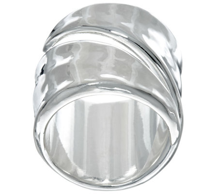 RLM White Bronze Coil Ring