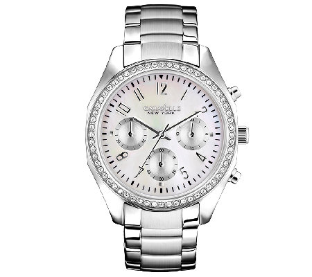 Caravelle New York Women's Silvertone Bracelet Watch