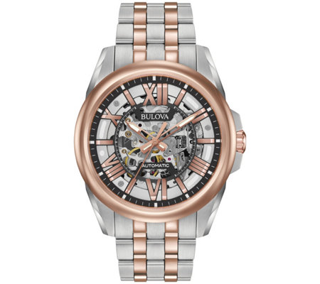 Bulova Men's Automatic Bracelet Watch