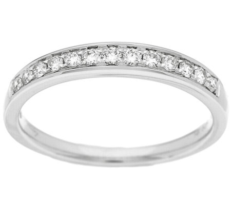 """As Is"" Michael Beaudry 1/5ct tw Diamond Band Ring, 14K Gold"