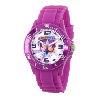 Marvel Guardians Unisex Purple Plastic Watch