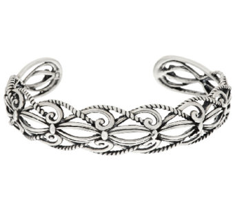 Carolyn Pollack Sterling Signature Cuff, 16.0g - J317749