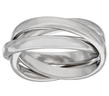 sterling silver rolling ring by silver style page 1