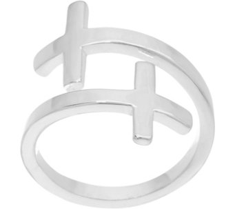 My Saint My Hero Pillar of Faith Bypass Cross Ring - J333949