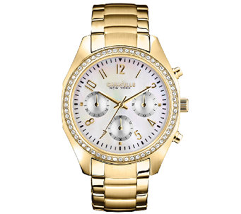 Caravelle New York Women's Goldtone Bracelet Watch - J336849