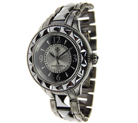 Judith Ripka Stainless Steel & Ceramic Watch