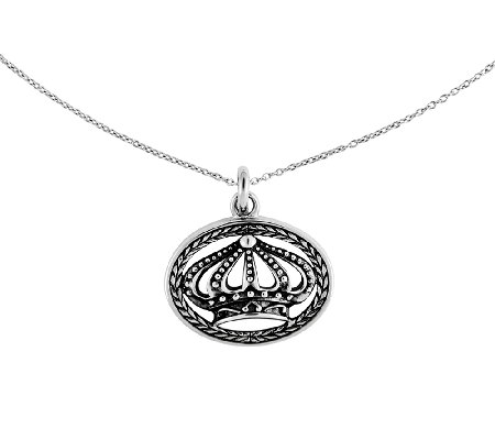 Sentimental Expression Sterling Silver Keep Shining Pendant