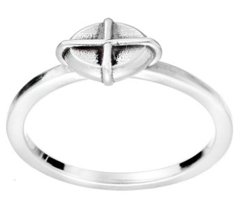 Hagit Sterling East/West Cross Ring - J342949