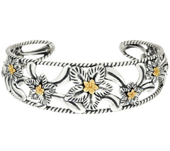 Carolyn Pollack Desert Rose Mixed Metal Cuff Bracelet - J343249